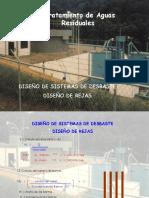 DISEÑO DE SISTEMAS DE DESBASTE DISEÑO DE REJAS