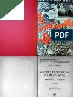 AS FORÇAS SECRETAS DA REVOLUÇÃO (1937) - LEON DE PONCINS.pdf