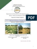 Analyse Des Choix Des Techniques d'Irrigation