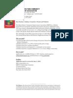 MMPCIA 2010 Scholarship Application