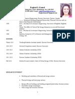 Raghad Kamel's Resume