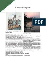 Cheena Vala Chinese Fishing Nets