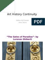 Art History Continuity
