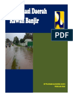 Peta Rawan Banjir Jawa Tengah