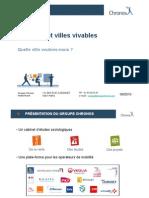Chronos Ville Vivable Montpellier