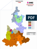 Primera propuesta de distritación electoral