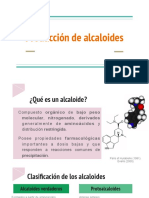 Producción de alcaloides