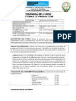 Programa Sistemas de Producción 2016