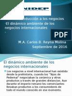 Ambiente de Los Negocios Internacionales