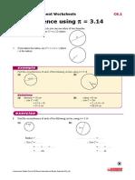 Year 8 Measurement Worksheets