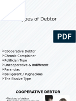Types of Debtor