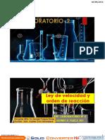 Pract 2 - Cinetica i -Qmc 301