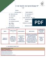 Planificación de Sesión de Aprendizaje SNC Y SNP