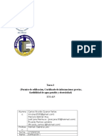 Tarea-2-Permiso de Edificacion, Certificado de Informaciones Previas, Factibilidad de Agua Potable y Electricidad
