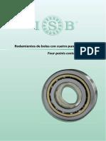 Catalogo Rodamientos Bolas 4 Puntos de Contacto Isb