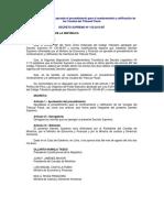 Proceso de nombramiento de vocales-Tribunal Fiscal