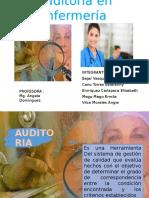 Auditoria en Enfermería