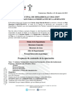 Plan Municipal de Desarrollo 2013-2015 s Admon