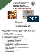 Resumen Proyecto Investigacion Cientifica