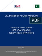 Sajhani Grid Station (Pakistan) Report