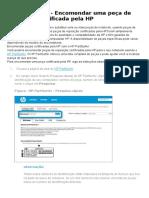 Notebooks HP Encomendar Peças de Reposição