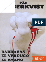 Barrabás - El Verdugo - El Enano - Pär Lagerkvist