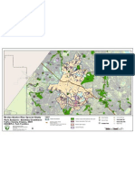 Map of Existing Reston Area Parks, FCPA, April 2010