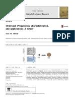 Hydrogel Preparation, Characterization,