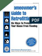 FEMA 1998 Homeowners Retrofitting-Flooding 173p