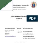 Plan de Mejora de La Facultad de Odontología (1)