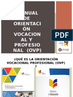 Manual de Orientación Vocacional y Profesional (OVP)