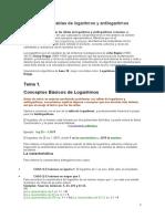 Como Usar Las Tablas de Logaritmos y Antilogaritmos Comunes