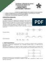 Laboratorio 3 Serie y Paralelo REALIZADO