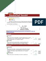 SanduChef Sambil