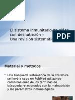El sistema inmunitario en niños con desnutrición.pptx