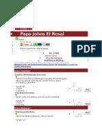 Papa Johns El Rosal
