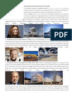 Los 15 Arquitectos Contemporáneos Más Famosos Del Mundo