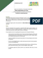 Protocolo Comunicación - Encuentros Regionales