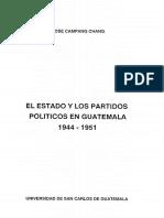 Partidos Politicos Historia Tesis