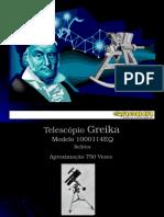 Telescópio Greika 1000114EQ