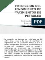 Metodos Prediccion Comportamiento de Un Yacimiento de Petroleo