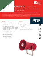 E2S BExS110D&110E Datasheet