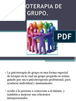 Exposicion Psicoterapia de Grupo