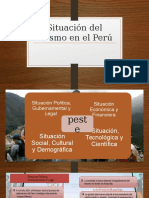 Situación Del Turismo en El Perú