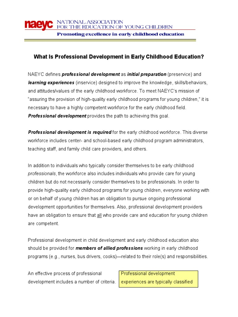 What is professional development in early childhood educationpdf what is professional development in early childhood educationpdf early childhood education professional development malvernweather Gallery