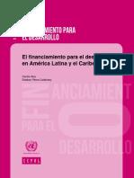 El Financiamiento Para El Desarrollo en América Latina y El Caribe