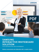 Vertical Brochure_Samsung Interactive Whiteboard Solution_Corporate_Web