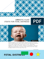 Amniotic Fluid.fetal Distress