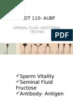 MEDT 110- AUBF