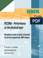 4 WCDMA LinkLevel Simulations